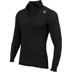 Термореглан Aclima HotWool Polo W/Zip Unisex Black
