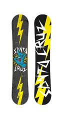 Сноуборд Santa Cruz Rock Hand Yellow