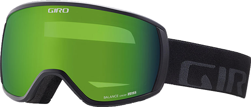 Маска Giro Balance Flash чорн. Wordmark, Loden Green 26%