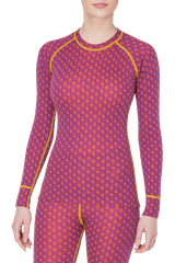Термореглан Thermowave Merino Xtreme LS Jersey W Grape