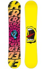 Сноуборд Santa Cruz Screaming Hand yellow, 154